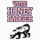 Vote Honey Badger by jezkemp