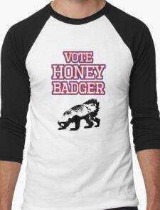 Vote Honey Badger Men's Baseball ¾ T-Shirt