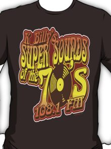 KBilly Super Sounds of the Seventies T-Shirt