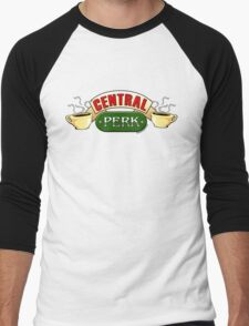 Central Perk Men's Baseball ¾ T-Shirt