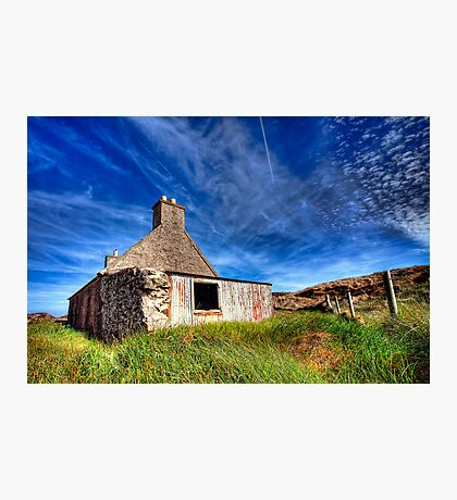 Abandoned at Ranish Photographic Print
