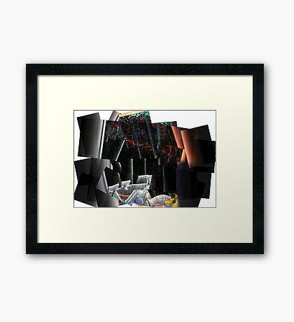 Bicycle wreak Framed Print