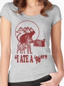 I Ate A 96er Women's Fitted Scoop T-Shirt