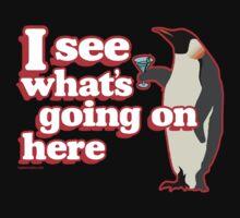 Drunken Penguin Jealousy Kids Clothes