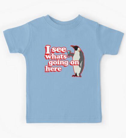 Drunken Penguin Jealousy Kids Tee