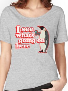 Drunken Penguin Jealousy Women's Relaxed Fit T-Shirt