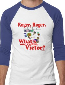 Roger, Roger, What's Your Vector Victor Men's Baseball ¾ T-Shirt