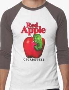 Red Apple Cigarettes Men's Baseball ¾ T-Shirt