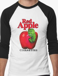 Red Apple Cigarettes Men's Baseball ¾ T-Shirt