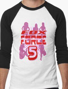 Fox Force 5 Men's Baseball ¾ T-Shirt