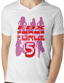 Fox Force 5 Mens V-Neck T-Shirt