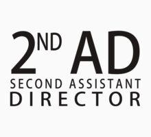 SECOND ASSISTANT DIRECTOR - Black by WarnerStudio