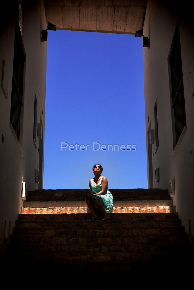 Light Blue by Peter Denness
