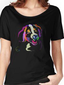 Cool t shirt Iggy portrait Women's Relaxed Fit T-Shirt