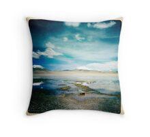 Landscape, Bolivia, South America. Throw Pillow