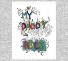 My Daddy RulesFather's Day T shirt.  Kids Clothes