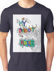 My Daddy RulesFather's Day T shirt.  T-Shirt