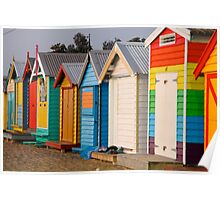 Colourful Boxes Poster