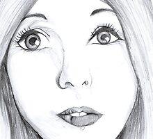 Kerli Portrait by drawingdream