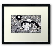 Amando Frida Framed Print