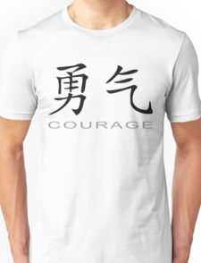 Chinese Symbol for Courage T-Shirt Unisex T-Shirt