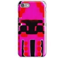 SQUIDOO pink stencil iPhone Case/Skin