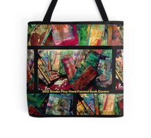2012 Studio Play - Hand Painted Book Covers Tote Bag