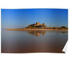Bamburgh Castle Poster