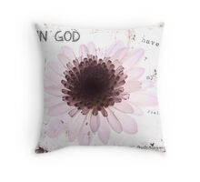 In God Throw Pillow