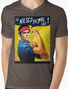 LET'S ROCK! Mens V-Neck T-Shirt
