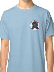 Black Newfie First Mate Classic T-Shirt