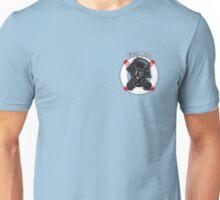 Black Newfie First Mate Unisex T-Shirt