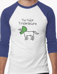 The Noble Triceracorn Men's Baseball ¾ T-Shirt