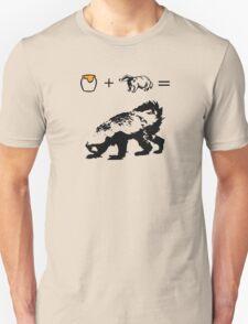 Honey + Badger = Honey Badger Unisex T-Shirt