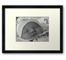 Created in His Image Framed Print