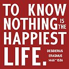 To know nothing is the happiest life by nimbusnought