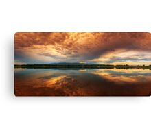 Pull me under Canvas Print