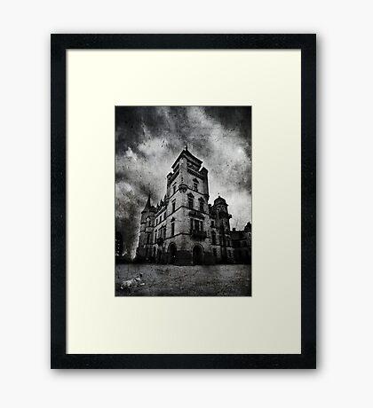 Haunted 2 Framed Print