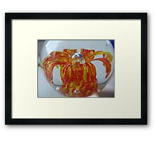 Colourful Ball Framed Print
