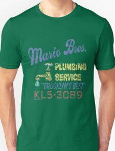 Mario Brothers Plumbing T-Shirt