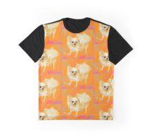 Dog Chihuahua Orange Graphic T-Shirt