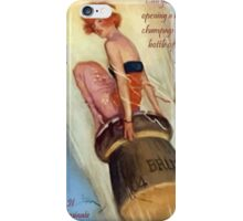 Opening Champagne iPhone Case/Skin