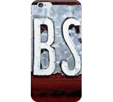 BS iPhone/iPod case iPhone Case/Skin