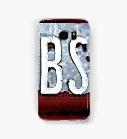 BS iPhone/iPod case Samsung Galaxy Case/Skin