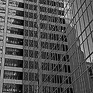 Skyscraper Reflections, Manhattan by JMChown