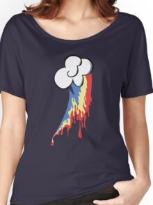 Running Rainbow Women's Relaxed Fit T-Shirt
