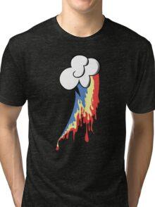 Running Rainbow Tri-blend T-Shirt