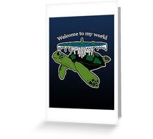 Discworld - welcome to my world Greeting Card