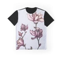 Spring Magnolia Graphic T-Shirt