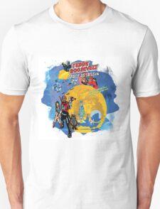 Teddy Roosevelt - Space Assassin! t-shirt T-Shirt